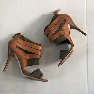 Tracy Reese Plenty Luri Leather Studded Heels
